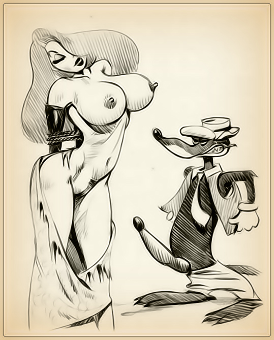 Think, Hot naked drawings of miss rabbit everything