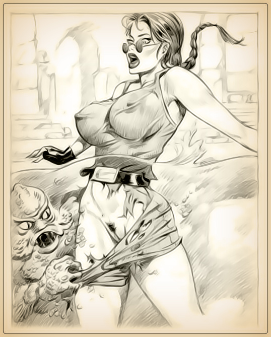 Tomb raider naked drawing, ecw women fucking